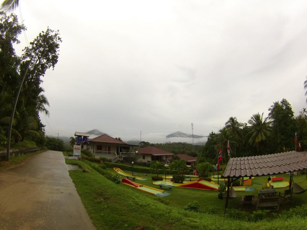 Wyspa Koh Phangan to także całkiem konkretne wziesienia