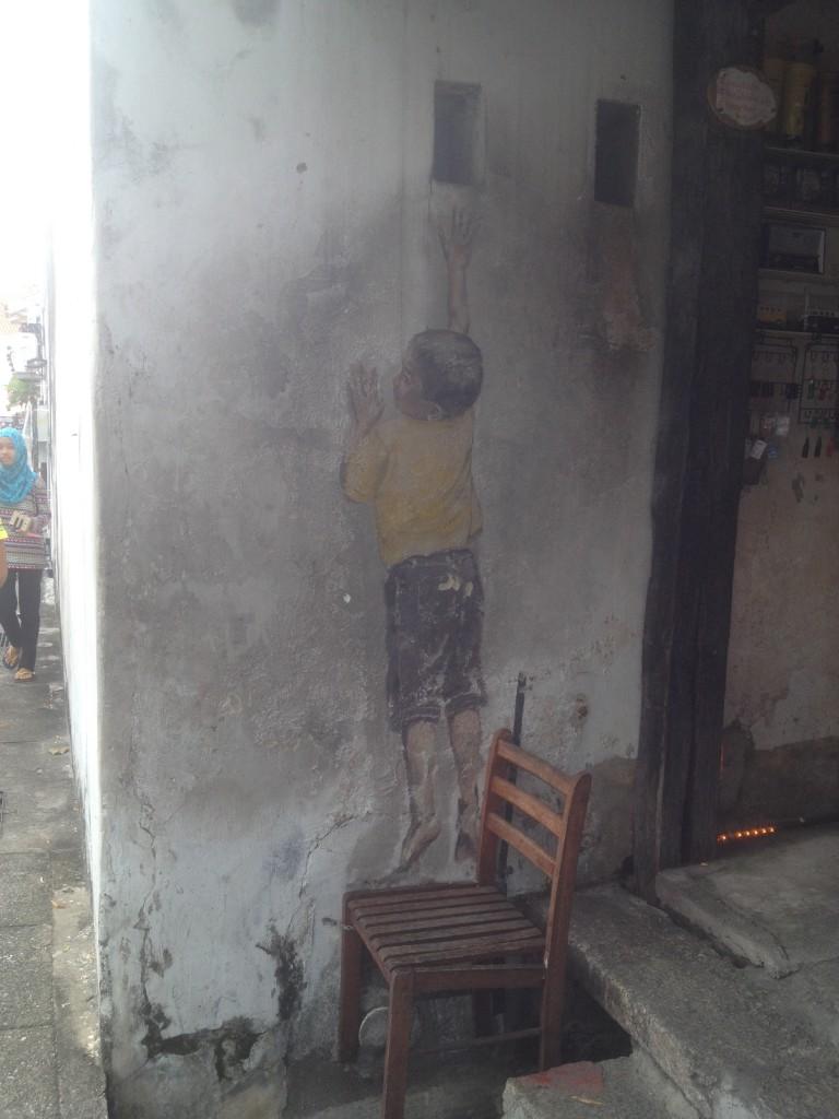 Streetart w Georgetown