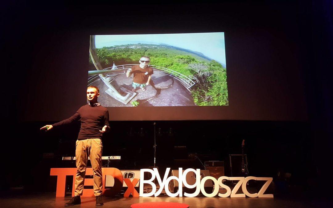 Na scenie TedX Bydgoszcz