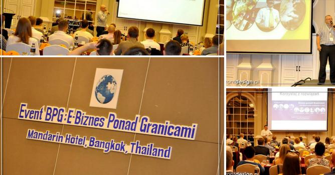 "O polskiej konferencji w Tajlandii ""Biznes Ponad Granicami"""