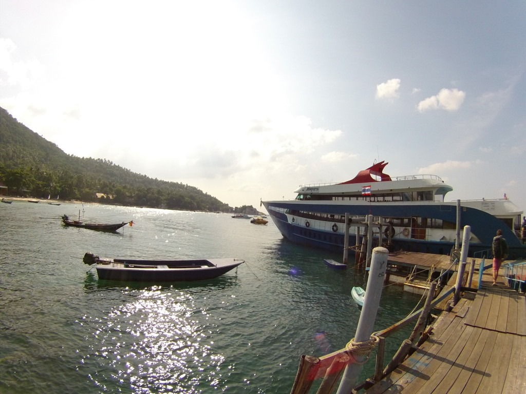 Statek Koh Tao - Chumpon